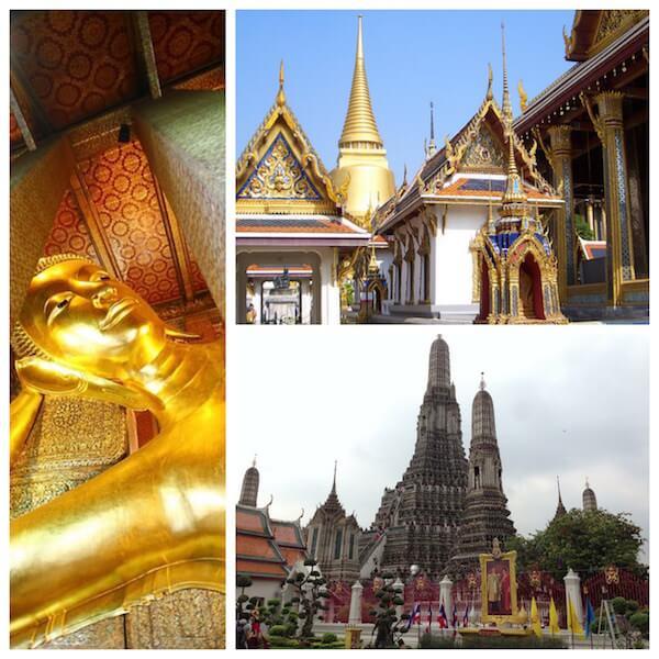 バンコク三大寺院への行き方。ワット・プラケオ、ワット・アルン、ワット・ポー。
