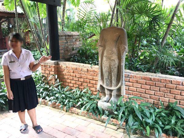 タイ人学生のガイド