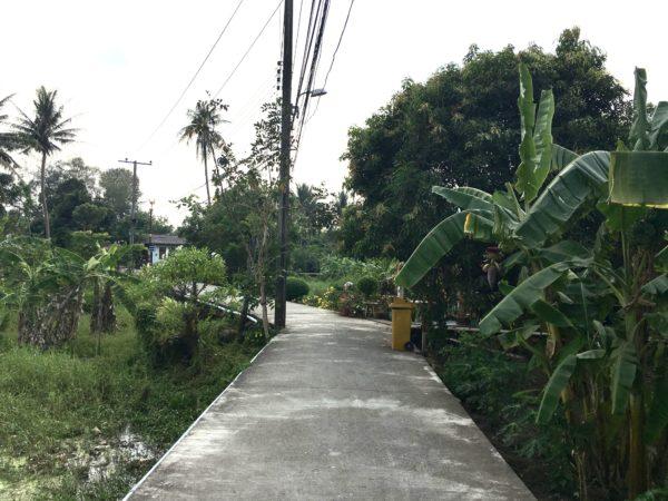 クレット島の田舎道1