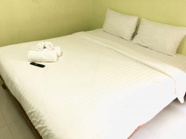 モントリ リゾート ドンムアン バンコク (Montri Resort Donmuang Bangkok)のベッド