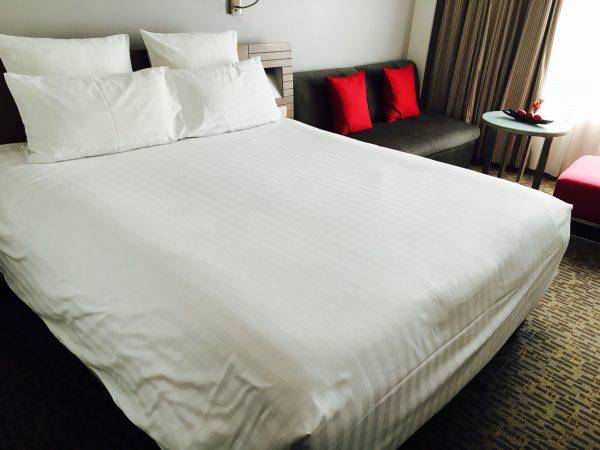 ノボテル バンコク オン サイアム スクエア ホテル (Novotel Bangkok On Siam Square Hotel)のベッド