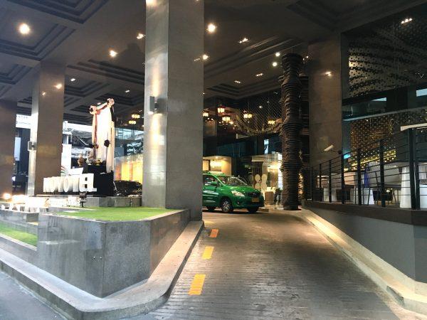 ノボテル バンコク オン サイアム スクエア ホテル (Novotel Bangkok On Siam Square Hotel)の入口
