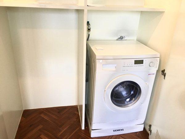 パチャラ スイーツ スクンビット (Phachara Suites Sukhumvit)のドラム式洗濯乾燥機