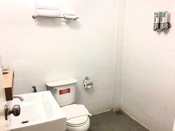 レトロアシス ホテル (RetrOasis Hotel)のシャワールーム1