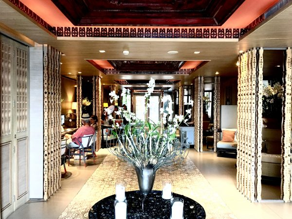 リーバ スーリヤ バンコク ホテル (Riva Surya Bangkok Hotel)のエントランス