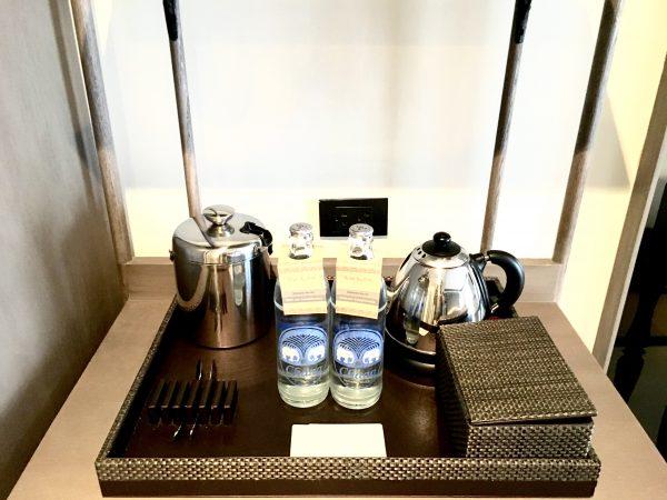リーバ スーリヤ バンコク ホテル (Riva Surya Bangkok Hotel)の無料ボトルウォーター