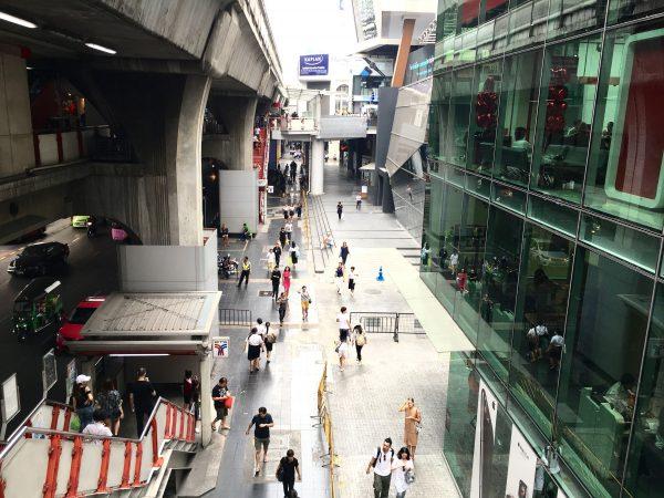 BTSサイアム駅前