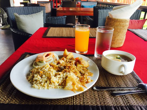 レゲンハスコータイホテルの朝食2