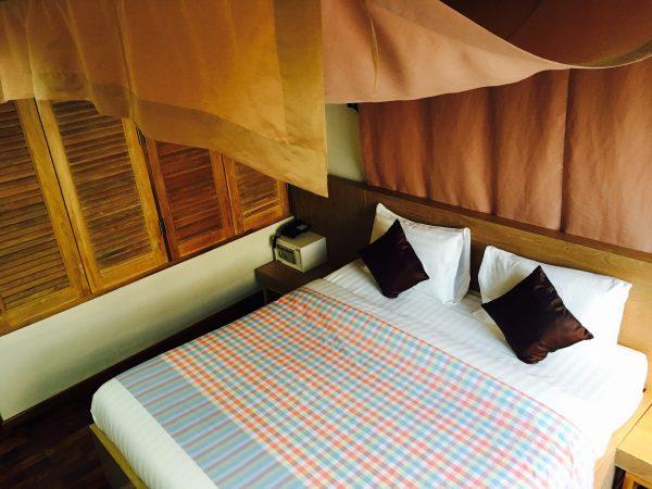 フォレスト スコータイ ゲストハウス (Foresto Sukhothai Guesthome)のベッド
