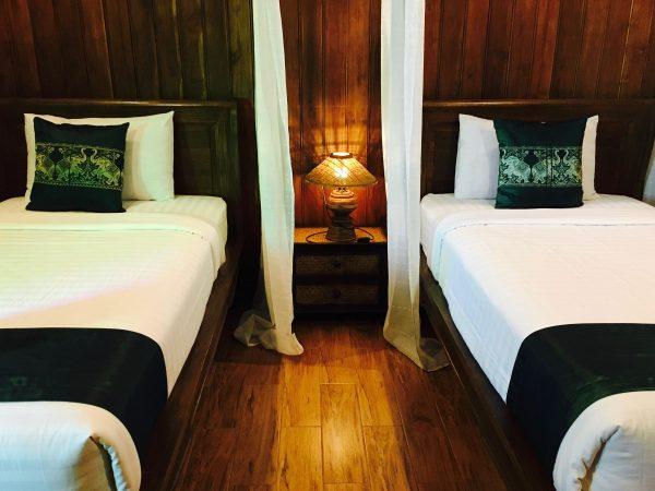 サワディースコータイ リゾート (SawasdeeSukhothai Resort)のベッド