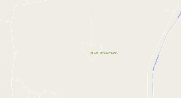 ホーリーハートランド googlemap