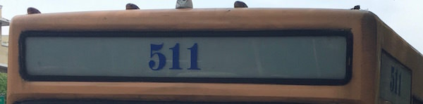 511番バス