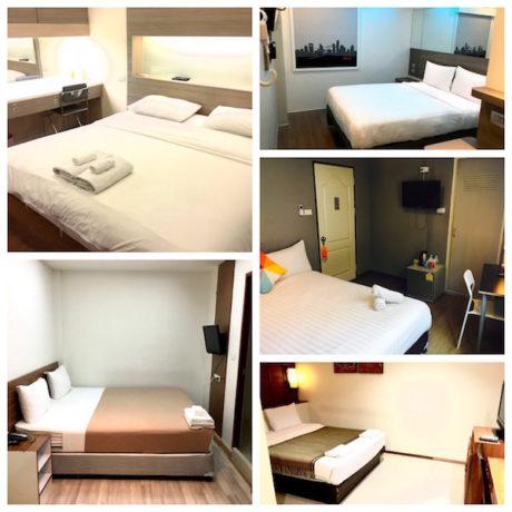 バンコクの格安JF無料ホテル