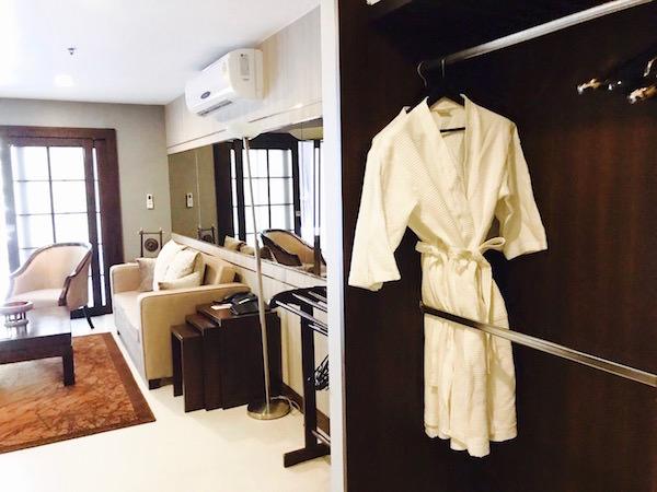 グランド メルキュール アソーク レジデンス(Grand Mercure Bangkok Asoke Residence)の客室1