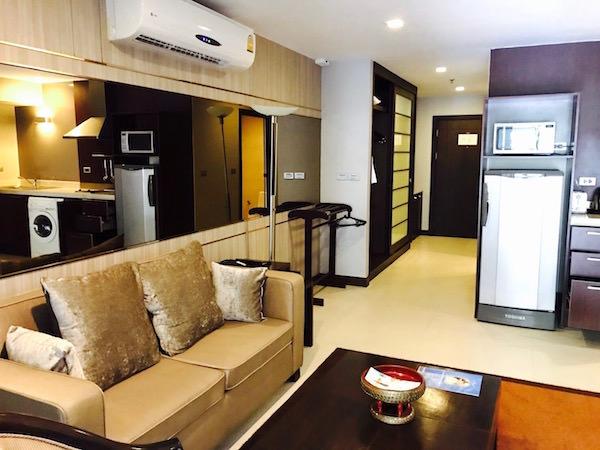 グランド メルキュール アソーク レジデンス(Grand Mercure Bangkok Asoke Residence)の客室2