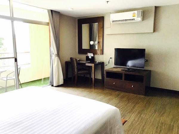 グランド メルキュール アソーク レジデンス(Grand Mercure Bangkok Asoke Residence)のベッドルムーム2
