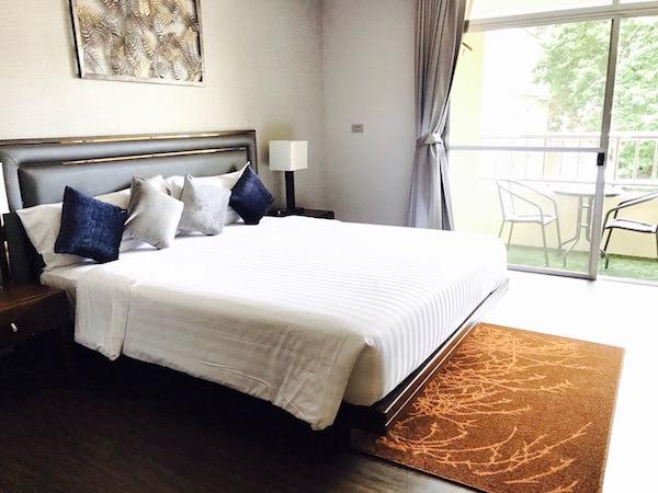 グランド メルキュール アソーク レジデンス(Grand Mercure Bangkok Asoke Residence)のベッドルーム1