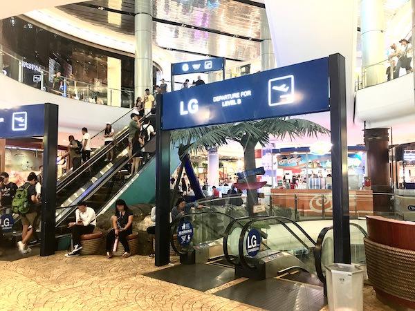 ターミナル21のカリビアンフロア
