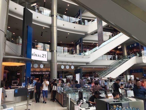 ターミナル21 パリフロア