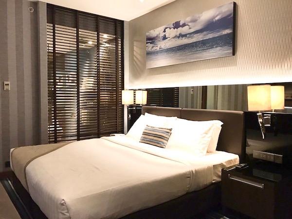 ザ コンチネント バンコク バイ コンパス ホスピタリティ(The Continent Bangkok by Compass Hospitality)の客室1
