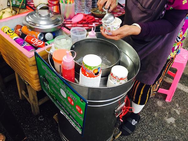 サタデーマーケットのアイスクリーム1