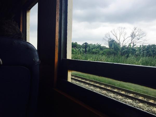 電車から見える景色