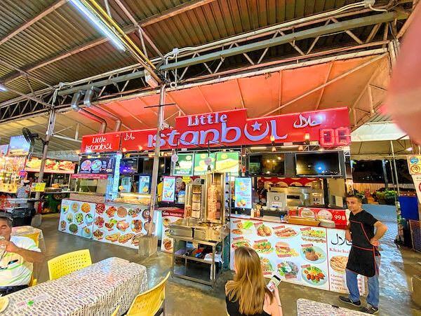 カラレナイトバザール(Ka Lae Night Bazaar)のトルコ料理店