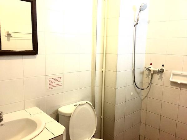 ランナ タイ ゲストハウス(Lanna Thai Guest House)のシャワールーム