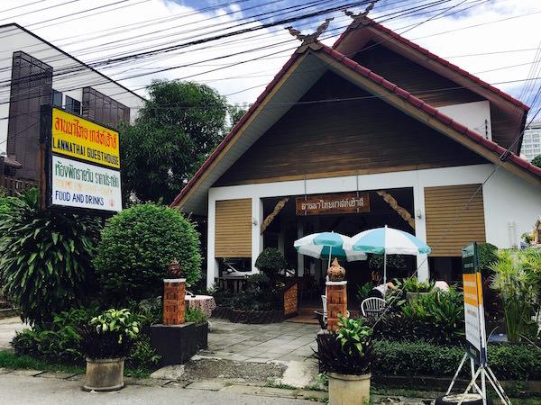 ランナ タイ ゲストハウス(Lanna Thai Guest House)の外観