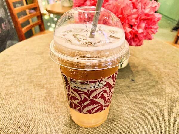 ワン ニマンヘミン(One Nimman)にあるモンスーンティーで飲んだお茶