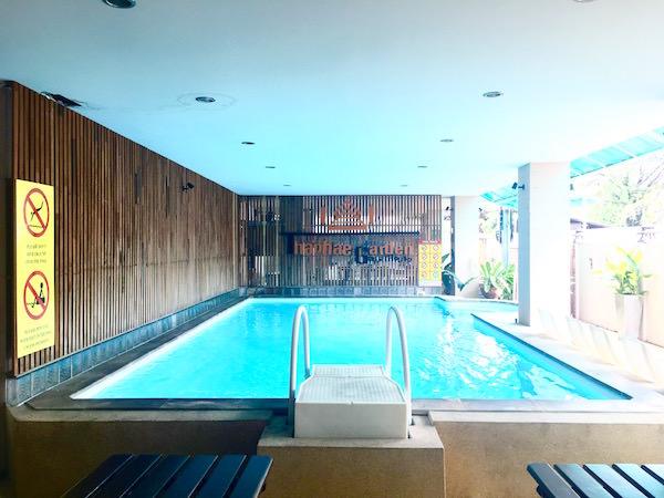 ターペーガーデンゲストハウス(Thaphae Garden Guesthouse)のプール