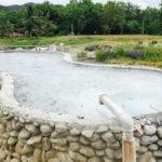 サンカムペーン温泉の湧き出し口