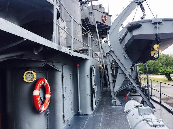 メークロン号の船内1