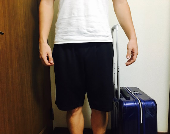 シフレスーツケースの全長