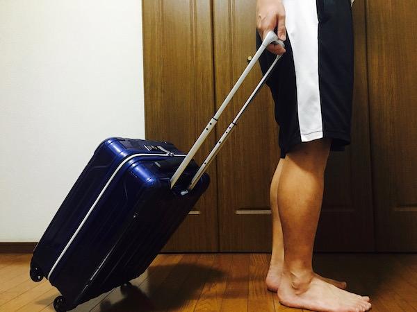 シフレスーツケース 移動時