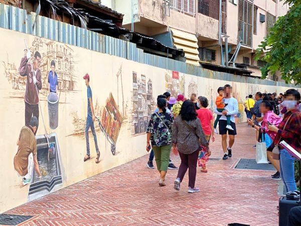 クローン オンアン ウォーキングストリート(Klong Ong Ang Walking Street)1
