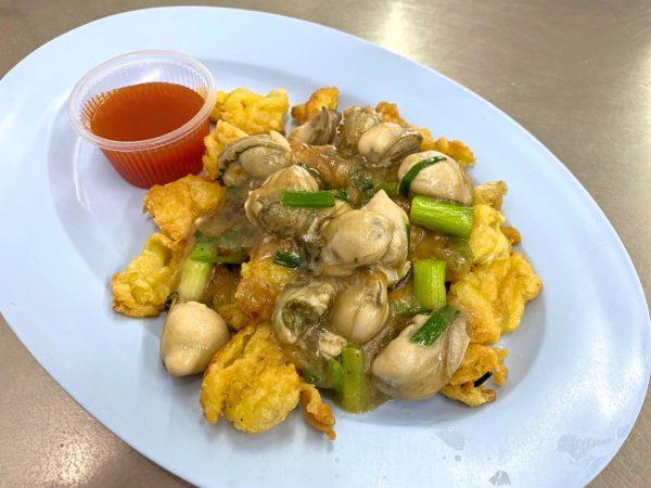 ナイモンホイトート(Nai Mong Hoi Thod)で食べたホイトート