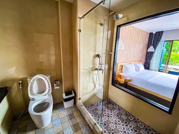 ザ S ヴィラズ ホテル(THE S VILLAS HOTEL)の客室シャワールーム
