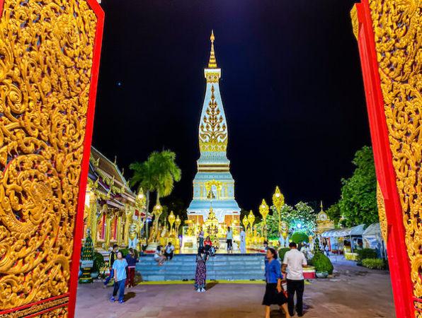 ワット プラタートパノムの仏塔