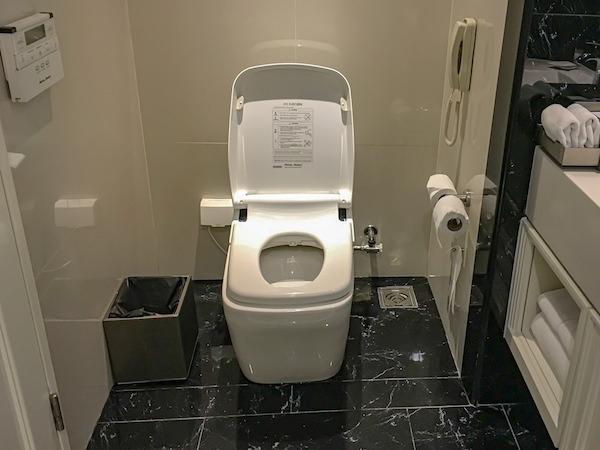 グランデ センター ポイント スクンビット 55 トンロー (Grande Centre Point Sukhumvit 55 Thong Lo)のトイレ便座