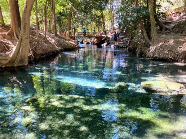 バーンターチャーン温泉(Ban Tha Chang spring)1