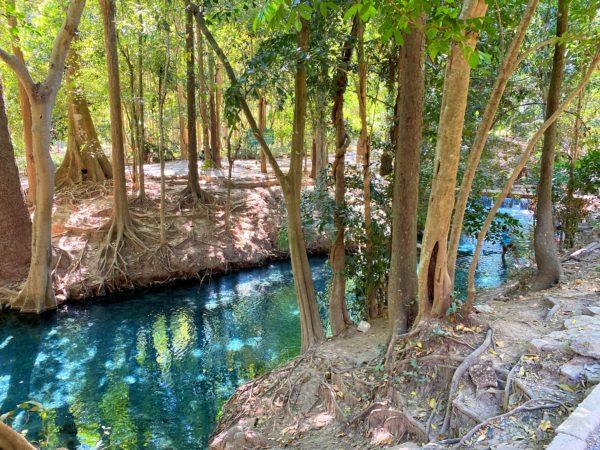 バーンターチャーン温泉(Ban Tha Chang spring)3