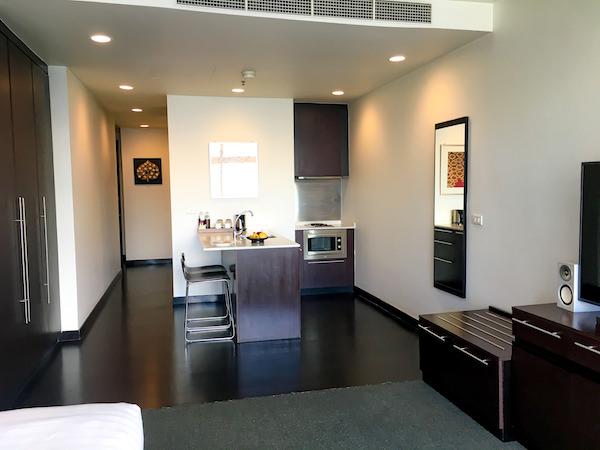 チャトリウム ホテル リバーサイド バンコク (Chatrium Hotel Riverside Bangkok)グランドルーム リバービューのキッチン