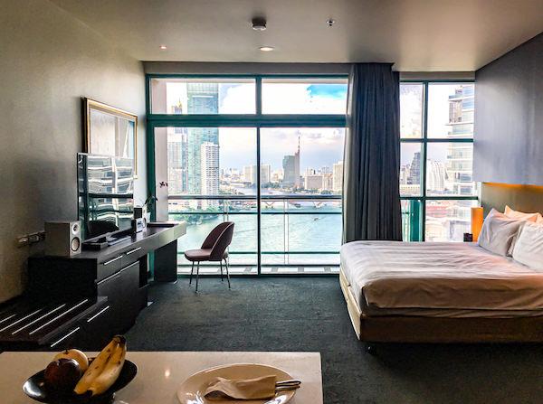 チャトリウム ホテル リバーサイド バンコク (Chatrium Hotel Riverside Bangkok)のグランドルーム リバービュー2