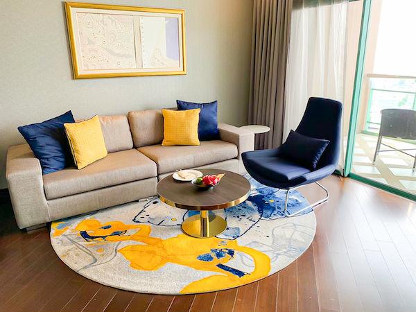 チャトリウム ホテル リバーサイド バンコク (Chatrium Hotel Riverside Bangkok)のグランドスイート 1ベッドルーム リバービュー2