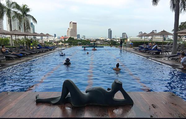 チャトリウム ホテル リバーサイド バンコク (Chatrium Hotel Riverside Bangkok)のインフィニティプール1
