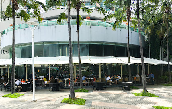 チャトリウム ホテル リバーサイド バンコク (Chatrium Hotel Riverside Bangkok)のリバービューレストラン