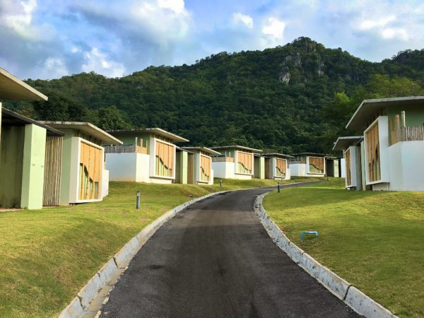 カーブ 360 ホテル カオヤイ(Curve360 Hotel Khao Yai)の敷地内