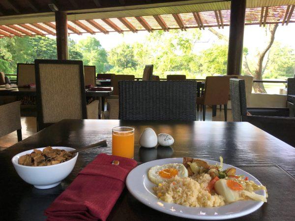 キリマヤ ゴルフ リゾート スパ(Kirimaya Golf Resort Spa)の朝食
