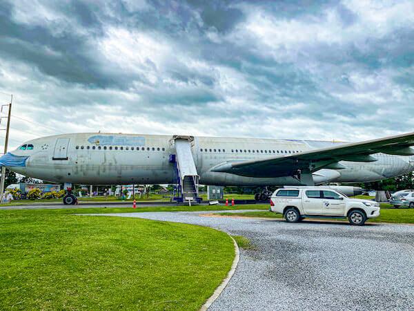 コラートの飛行機カフェ(Airplane Park)1
